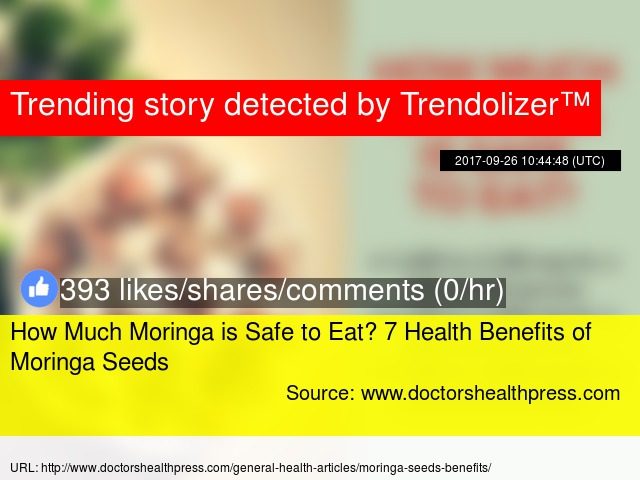 How Much Moringa is Safe to Eat? 7 Health Benefits of